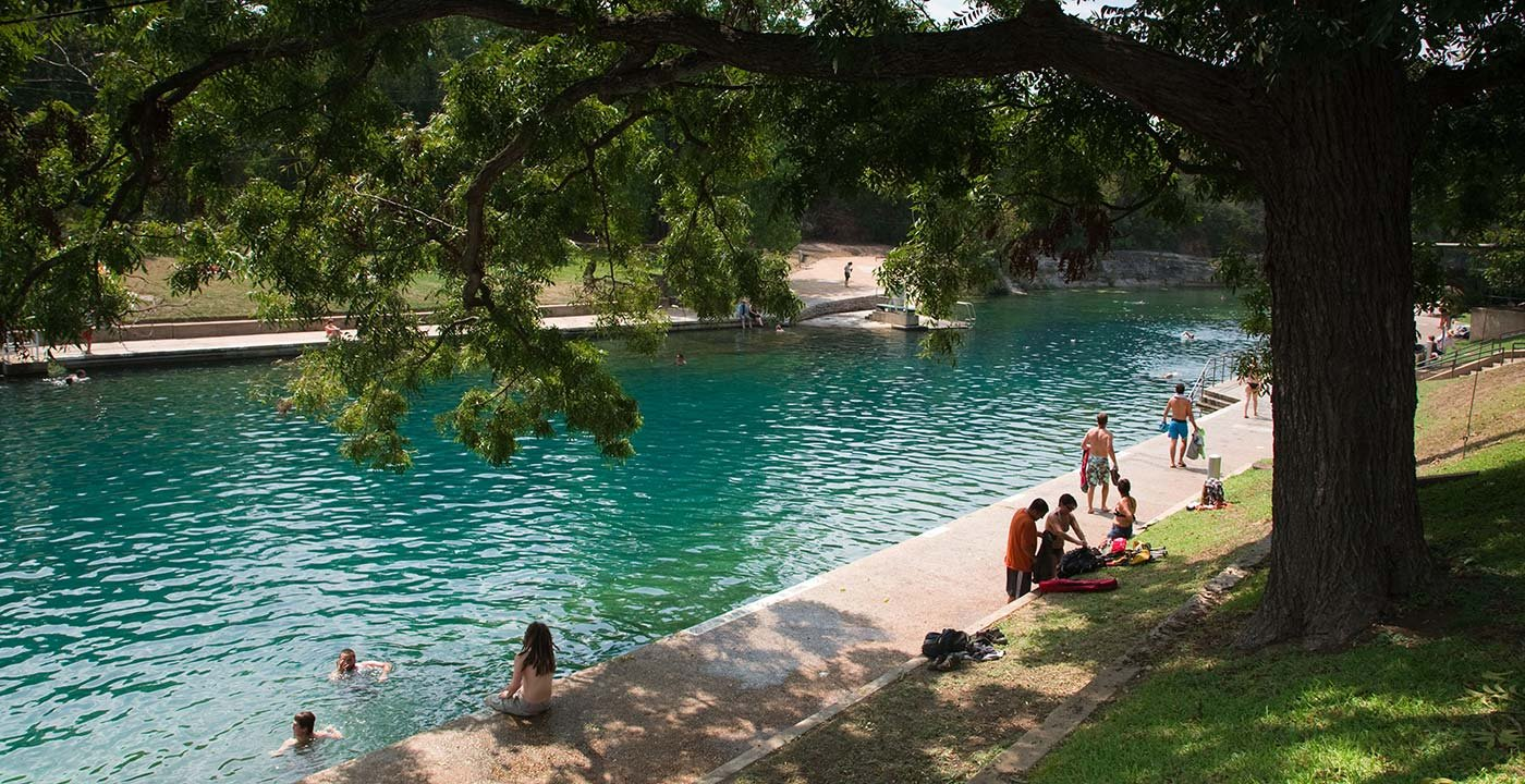 Take a Dip in Barton Springs Pool