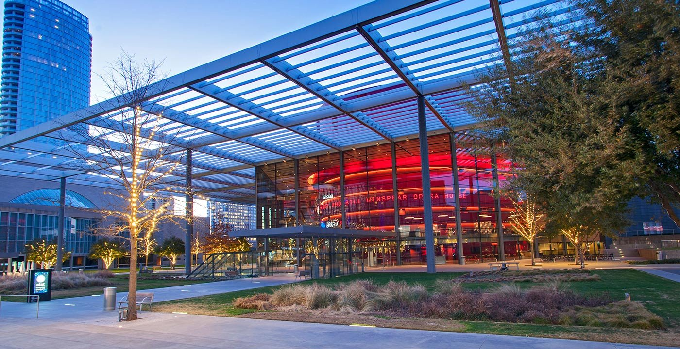 AT&T Performing Art Center in Dallas, TX