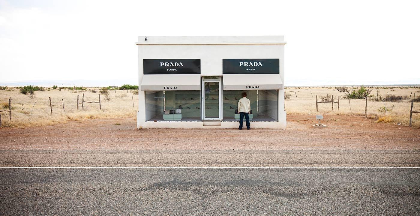Prada Store Art Installation