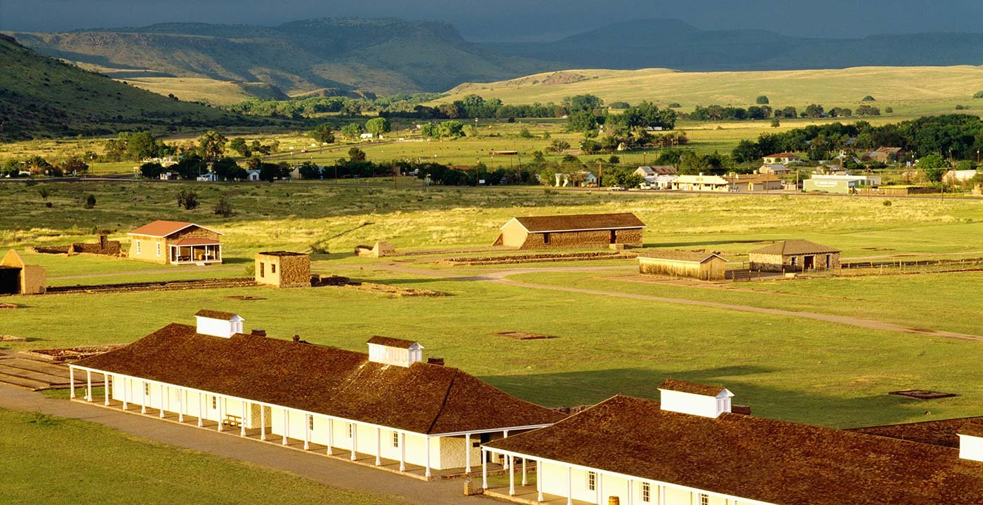 Travel North to Tour Fort Davis National Historic Site