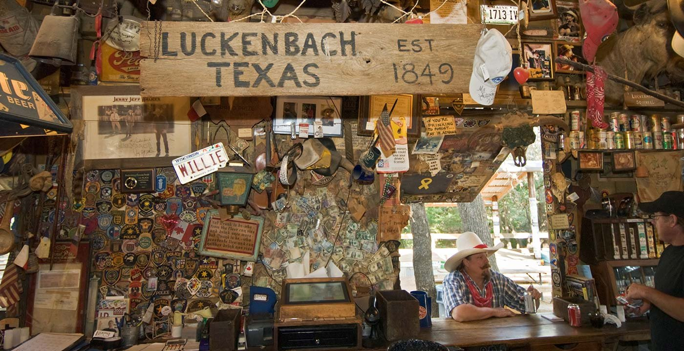 'Everybody's Somebody in Luckenbach'