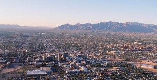Aerial View of Tucson