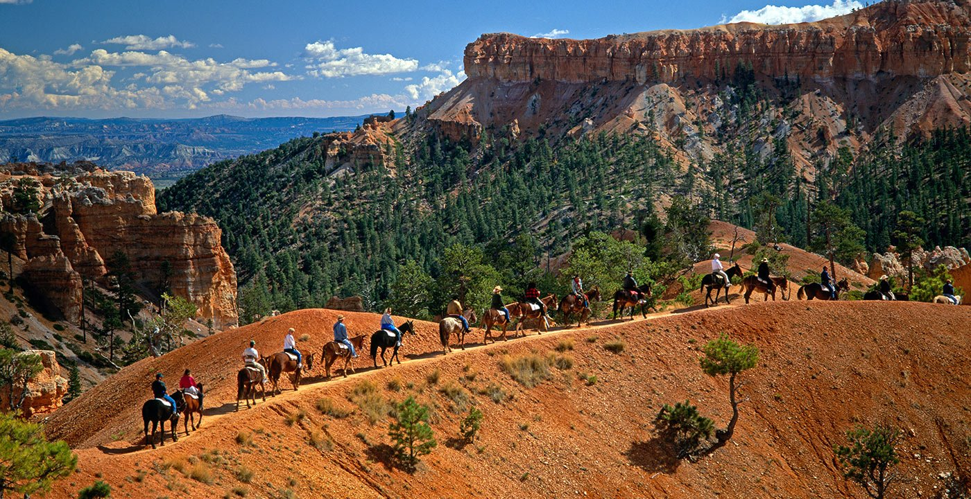 Saddle Up to Explore Below the Rim