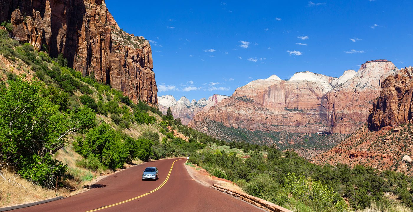 A Thrill at Every Turn: Zion-Mount Carmel Highway