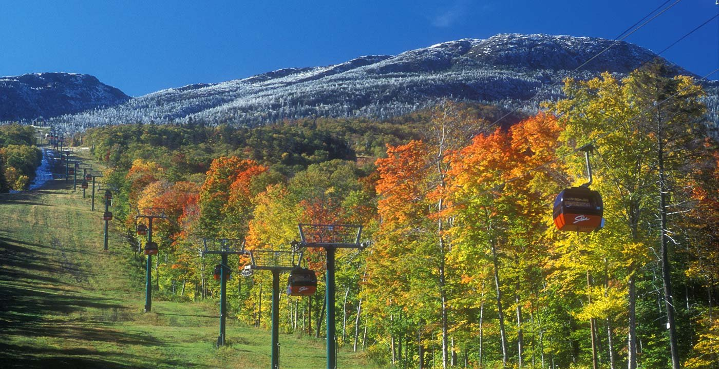 Ride a Gondola up Mount Mansfield