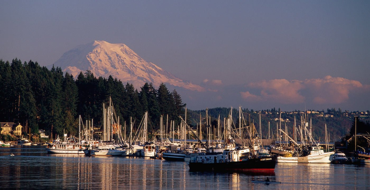 Cruise Around Gig Harbor and Puget Sound