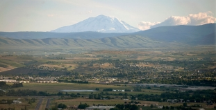 Aerial View of Yakima Valley