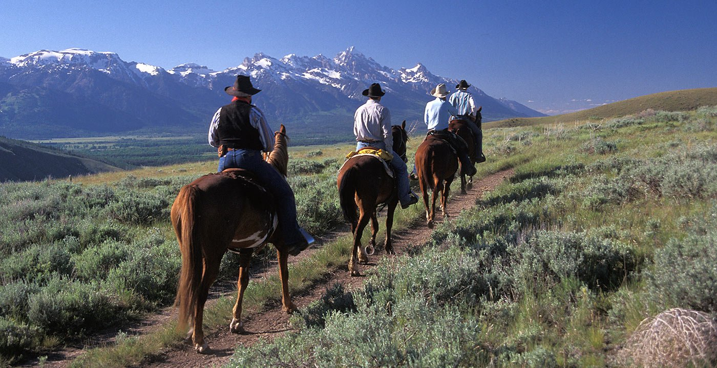 You're in the West — So Saddle Up!